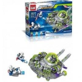 Конструктор Космическое приключение НЛО 398 деталей 1611 Brick Space