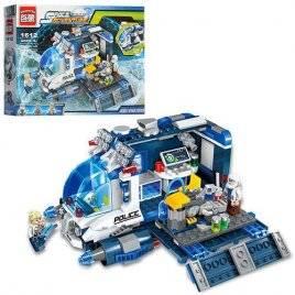 Конструктор Космические приключения Транспорт-база 337 деталей 1612 Brick