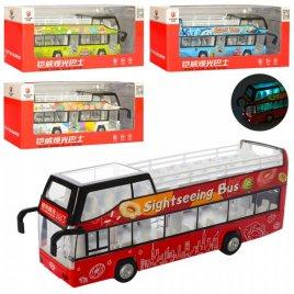 Автобус двухэтажный со светом и музыкой MS1618A