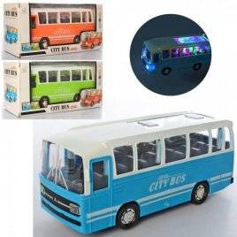 Автобус  со звуком и светом ездит 1658A