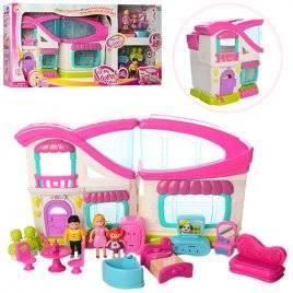 Домик для кукол с мебелью, звуками и светом кукольный Ультрамодный 16690