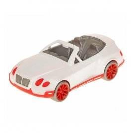 Уценка! Машина для куклы Кабриолет бело-розовый 17-011 Киндервей