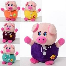 Мягкая игрушка Свинья на присоске 1701