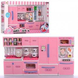 Кухня для кукол большая с холодильником 1706А