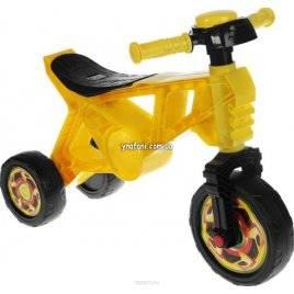 Уценка!Беговел мотоцикл желтый 3 колеса 171 Орион