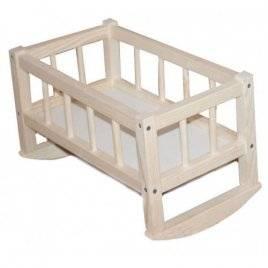 Кроватка детская деревянная для кукол разборная СМЕРЕКА 172016 ТМ Дерево
