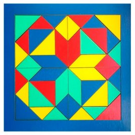 Деревянная игрушка Геометрика Мозаика 172401 ТМ Дерево