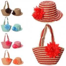 Уценка! Сумка пляжная со шляпой 1865-66