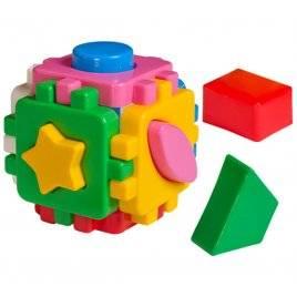 """Куб """"Розумный малюк"""" - мини Геометрия 1882 Технок, Украина"""