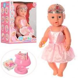 Пупс Baby Born в пластиковой короне и нарядном платье BL018A-S-UA