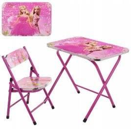 Детский столик и стульчик складные Принцессы A19-BB