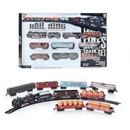 Купить детскую железную дорогу с паровозом