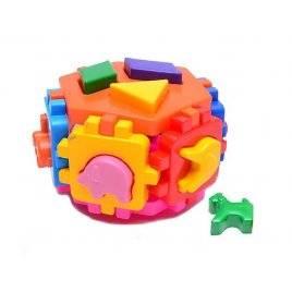 """Куб """"Розумный малюк"""" пятисторонний Гексагон 2 вида 1981/1998 Технок малый"""