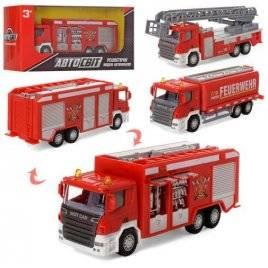 Машинка инерционная пожарная AS-1997 АвтоМир