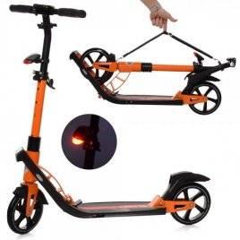 Самокат для взрослого до100 кг оранжевый SR 2-040-OR