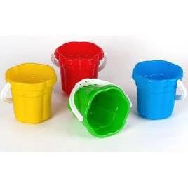 Ведро для песка Ромашка 20.000 Toys Plast