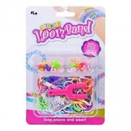 Набор резиночек для плетения браслетов с крючком E2001-01F