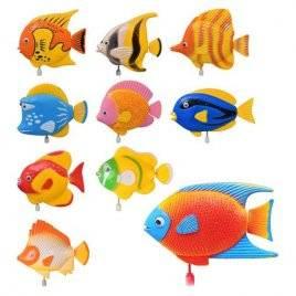 Водоплавающая заводная игрушка Рыбка 2008