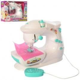 Швейная машина со световыми эффектами и звуками Шьет с педалью YX2011