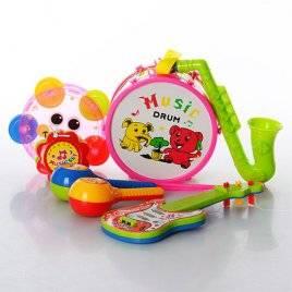 Набор музыкальных инструментов детских с саксофоном 2013