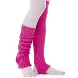 Гетры для танцев розовые 39 см 2021