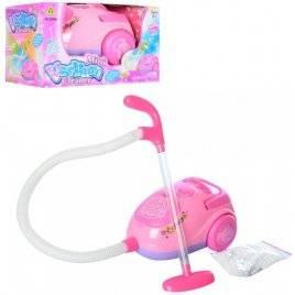 Пылесос для девочек игрушечный музыкальный 2038A
