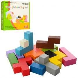 Деревянная головоломка  блоки MD 2042