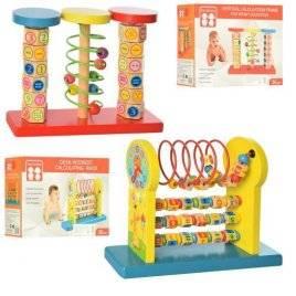 Лабиринт деревянный игрушка на проволоке развивающий центр MD 2062