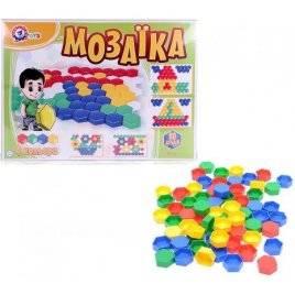 Мозаика для малышей 1 80 элементов 2063 Технок, Украина