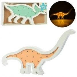 Деревянная игрушка ночник Динозавр 2 вида MD 2079
