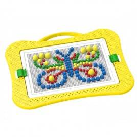 Мозаика для малышей № 7 300 деталей Бабочка 2100 Технок, Украина