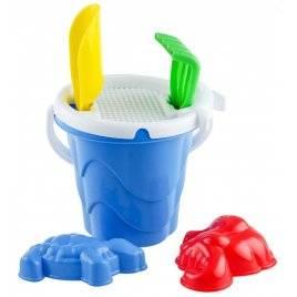 Песочный набор маленький Волна с пасочками в виде Животных Toys Plast Мерефа