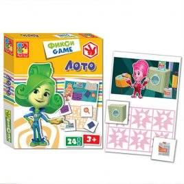 Лото Фиксики детское 2107-07 Vladi Toys