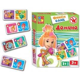 Домино с Фиксиками VT2107-01 Vladi Toys