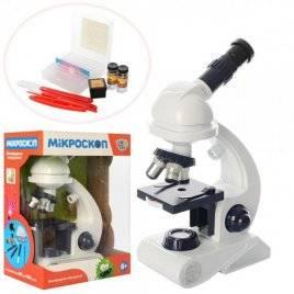 Микроскоп со светом + инструменты C2129 LimoToy