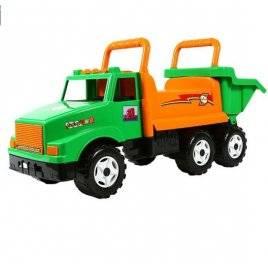 Уценка! Машинка для катания большая зелёно-оранжевая МАК 211 Орион, Украина