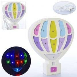 Деревянный ночник  Воздушный шар 2151