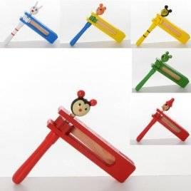 Деревянная игрушка трещотка 2179