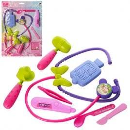 Детский набор доктора для девочки 8 предметов 220-2