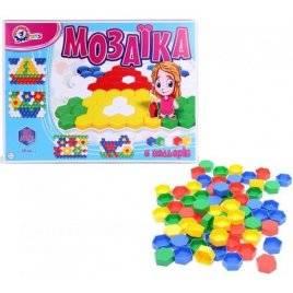 Мозаика для малышей №2 120 элементов 2216 Технок, Украина