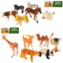 Животные дикие малые и домашние 222 6 штук