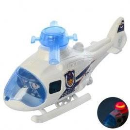 Заводная игрушка Вертолет со световыми эффектами 226