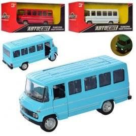 Автобус металлический инерционный со звуком и светом 2270 АвтоМир