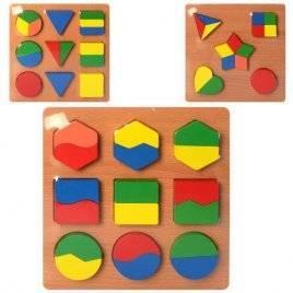 Геометрика деревянная дроби 2282