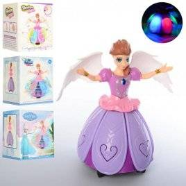 Кукла Frosen кружится с музыкальными и световыми эффектами 2288-2288A-F