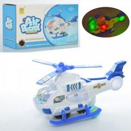 Вертолет детский ездит с музыкой и светом 2292