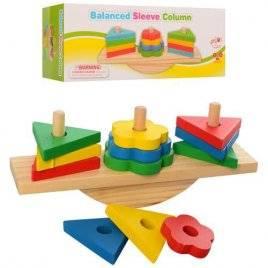 Геометрика деревянная игрушка  баланс 2317