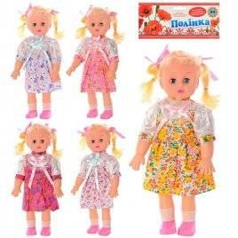 Кукла пластиковая  Полинка с музыкой и светом  М 2387