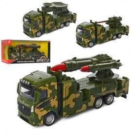 Машина металлическая инерционная военная AS-2400 АвтоМир
