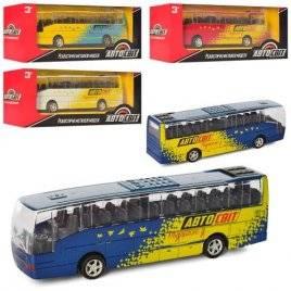 Автобус игрушечный металлический инерционный AS 2437